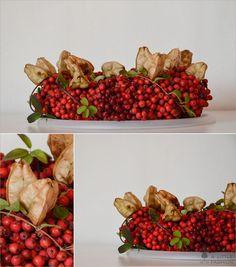 Herbst-Dekoration auf vollen Touren… Beeren-Kranz (DIY) #wohnen #einrichtung #ideen #deko #möbel #schlafzimmer #inspiration #wohnzimmer #living #room #kitchen #filizity