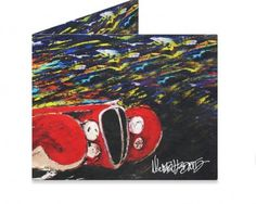 Dynomighty Artist Collective: 1935 DELAHAYE by Michael Ledwitz 1935 DELAHAYE ON CANVAS BY ARTIST MICHAEL LEDWITZ