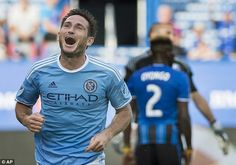 Montreal Impact 1-3 New York City: David Villa and Frank Lampard score vital goals to give Patrick Vieira's side the win in Canada