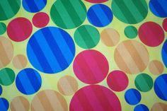 J.Swafing Dot Com Punkte Big Polka Dots Streifen Dekostoff Baumwolle Meterware