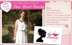 Our #Blog of the Month is Dearheart Beauty. We love their beauty mantra! www.dearheartbeauty.com All Things Beauty, Special Guest, Our Love, Pond, Mantra, Face, Pretty, Blog, Inspiration
