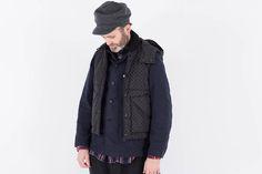 Black Polka Dot Microfiber Primaloft Vest by Engineered Garments – The Bureau Belfast