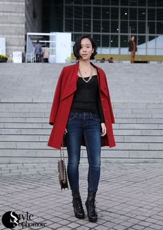 StyleSophomore | Asian Street Fashion & Street Style by Stacey Young: Jeong Yeon, Seoul