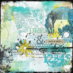 Make a path Angie Young Designs at Scrapbookgraphics