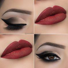 """4,528 curtidas, 55 comentários - 👻 jaque_vandoski (@jaquelinevandoski) no Instagram: """"Olá, lindezas! 💖 Trouxe uma opção de make bem basiquinha para começarmos a semana! 😂❤ E quero…"""" makeup maquiagem"""