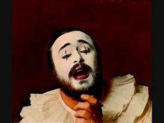 Luciano Pavarotti. Recitar! I Pagliacci. R. Leoncavallo.