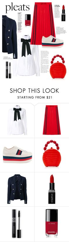 """Casual chic"" by martina-b33 ❤ liked on Polyvore featuring Dolce&Gabbana, Gucci, Nancy Gonzalez, Theory, Smashbox, Christian Dior and Chanel"