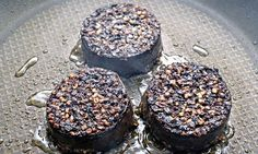fried black pudding