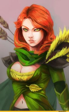#Dota2 Lyralei the Windrunner,Dota,фэндомы