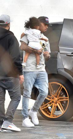 Chris and his daughter royalty Pinterest: Tweebabii89