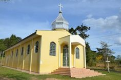 Igreja ucraniana do Saltinho II, em Ivaí
