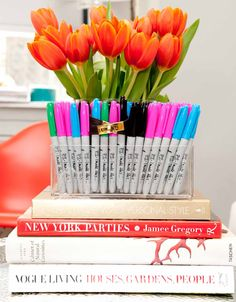 Sharpies & Hermès... better together than you'd think. www.thecoveteur.com/erica_domesek
