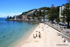 Oriental Bay Beach in Wellington, New Zealand.