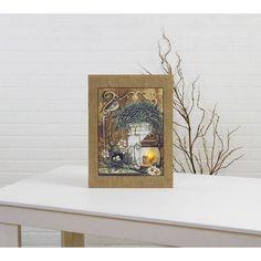 Lighted Garden Thyme Canvas