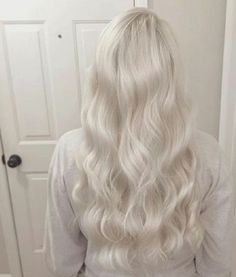 Client wanted to go as super icy as possible for her wedding thats coming up! F Platinum Blonde Hair client Coming icy super wanted wedding White Blonde Hair, Icy Blonde, Platinum Blonde Hair, Super Blonde Hair, Girls With Blonde Hair, Dye My Hair, New Hair, Grunge Hair, Hair Highlights