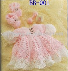 Free Crochet Baby Dress Patterns | Crochet Baby Hats, Free Doll Clothes Patterns, Crochet Baby Headbands