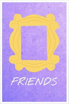 Art student Allison Hoover creates minimalist posters in honor of the 'Friends' anniversary. Friends Show, Serie Friends, I Love My Friends, Friends Moments, Wallpaper Cellphone, Audrey Horn, Friends Poster, 20 Year Anniversary, Favorite Tv Shows