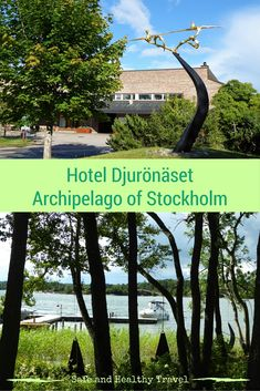 Djurönäset, a great hotel and conference centre in the archipelago of Stockholm. The motto is to be in nature and to relax. They succeeded!!