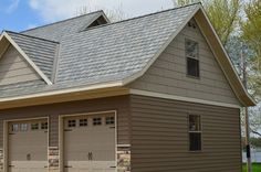 Inspiration Gallery of Roofing and Siding Styles - Timeless Style, Lasting Quality. Steel Siding, Steel Roofing, Siding Colors, Roof Colors, House Exterior Color Schemes, Exterior Colors, Roofing Options, House Siding, Exterior Siding