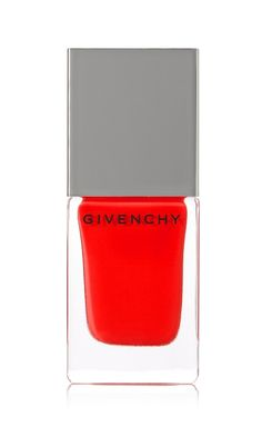 Carmin Escarpin Nail Polish by Givenchy is a gorgeous alteration to your typical classic red mani, and is sure to shake up your summer style.