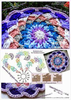 Crochet Graphic mandala