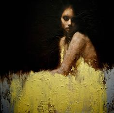 Contemporary Figurative Paintings Evoke Strong Emotion by Mark Demsteader via My Modern Metropolis