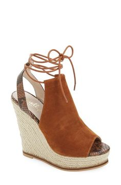 Shellys London 'Brooklyn' Espadrille Wedge (Women) available at #Nordstrom