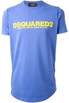 DSquared logo print T-shirt on shopstyle.com