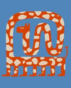 Illustrator Cecile Gariepy's clownish and charming characters Art And Illustration, Illustrations And Posters, Pink Wallpaper Ios, Aztec Wallpaper, Screen Wallpaper, Bad Drawings, Art Design, Art Plastique, Art Inspo
