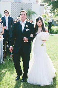 Gold and blush hued outdoor wedding in Malibu: http://www.stylemepretty.com/2014/08/01/gold-and-blush-hued-outdoor-wedding-in-malibu/   Photography: http://www.onelove-photo.com/