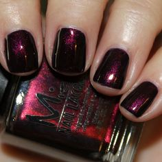 Misa Uptown Glamour - deep midnight blue with heavy red/purple shimmer