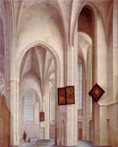 Jacobikerk Utrecht door Pieter Jansz. Saenredam