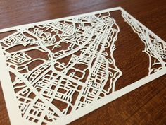 Paper cut map of Quebec City QC by CUTdesignsrt on Etsy Fun Shots, Quebec City, Paper Cutting, Maps, My Etsy Shop, Unique Jewelry, Handmade Gifts, Vintage, Design