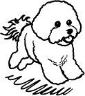 Bichon rubber stamp. I have this stamp!