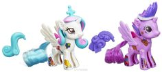 My Little Pony Набор фигурок Создай свою пони Princess Celestia & Princess Twilight Sparkle