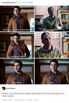#Riverdale #Kevin