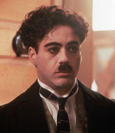 Robert Downey Jr. as Charlie Chaplin in Chaplin, 1992