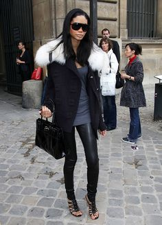 Chanel Iman-amazing outfit and model. <3