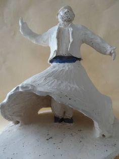 """Saatchi Art Artist Bulent Savkin; Sculpture, """"Whirling Dervish Sculpture"""" #art"""