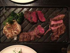 一次享受三種不同口味的牛排#delicious #instagood #yummy #food #like4like #steak