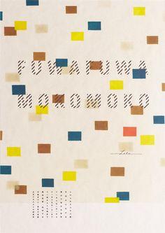 Fuwafuwa Mokomoko Exhibition by Daikoku Design Institute Book Design, Layout Design, Design Art, Print Design, Leaflet Design, Japanese Poster, Japanese Graphic Design, Exhibition Poster, Graphic Design Illustration