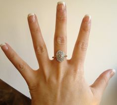 I like the look of vintage wedding rings