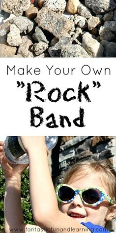 Make Your Own Rock Band - For the Spring Show's Rhythm Forest, maybe?