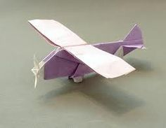 paper origami airplane - Google Search