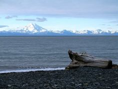 Deep Creek, Alaska  One of my favorite places to fish for Halibut.  Scenery isn't all that bad, either.
