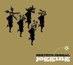 Jogging, de Sexteto Irreal. Digipack tapa. Diseño de Carlos Carpintero.