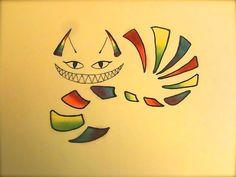 Rainbow Cheshire Tattoo by Morbid-Perhaps.deviantart.com on @DeviantArt