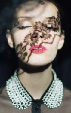 Romantic makeup and dramatic shadows <3 #makeup #classic #retro