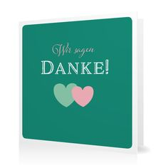 Dankeskarte Amors Pfeil in Smaragd - Klappkarte quadratisch #Hochzeit #Hochzeitskarten #Danksagung #Foto #kreativ #modern https://www.goldbek.de/hochzeit/hochzeitskarten/danksagung/dankeskarte-amors-pfeil?color=smaragd&design=e15b8&utm_campaign=autoproducts