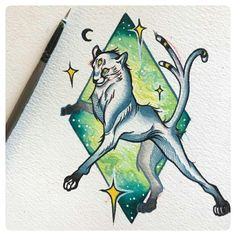 SPACE CAT ✨🐱 Original artwork by Von.Art. Space Cat, Original Artwork, My Arts, The Originals, Cats, Illustration, Gatos, Kitty Cats, Illustrations